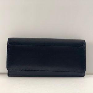 HOBO Black Taylor Wallet